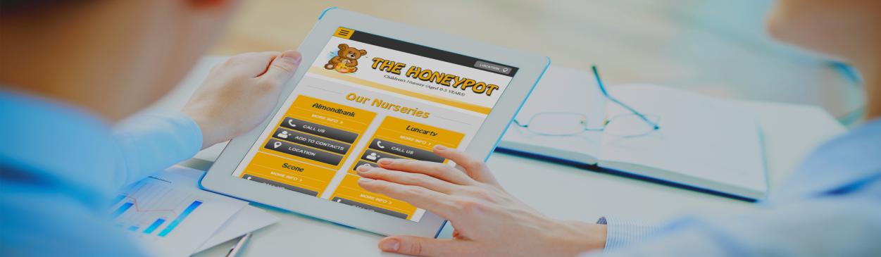 Honeypot Nursery | Web Design | Perth
