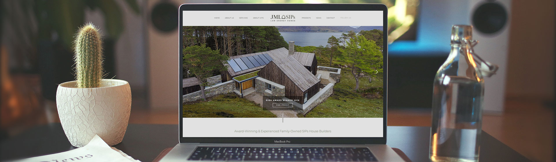 JML SIPS Custom-built Website