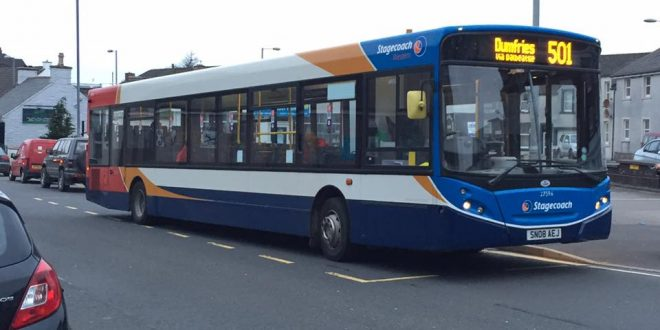 Dumfries bus