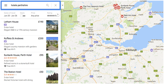 Hotels in Perthshire