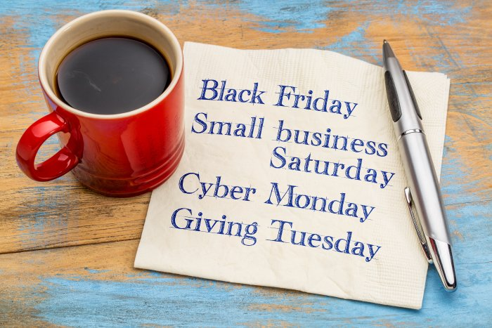 Small Business Saturday Black Friday